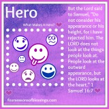 H…is for Hero